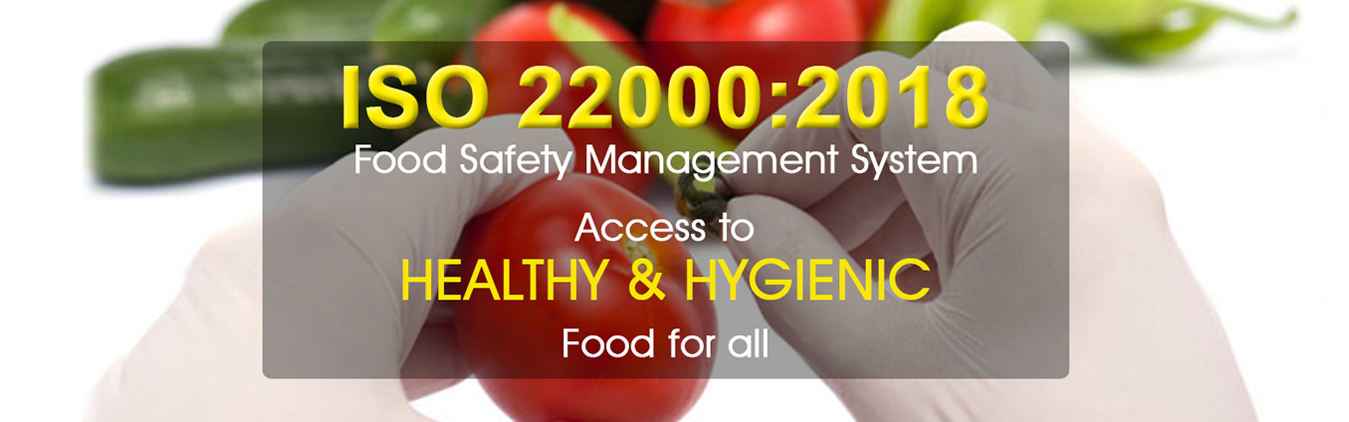 iso 22000:2005 food certification
